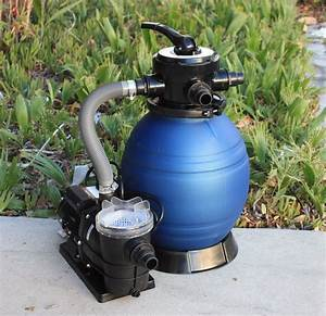 12 U0026quot  Sand Filter W  Water Pump 2400gph 4above Ground
