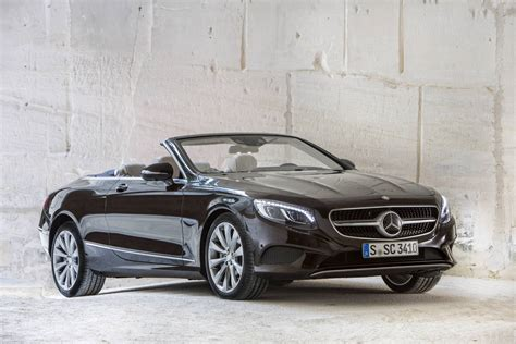 convertible mercedes black 2017 mercedes benz s500 s63 amg cabriolet review gtspirit