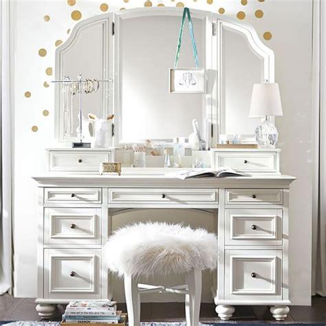 Makeup Vanities For Bedrooms by Chelsea Vanity Pbteen