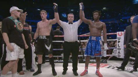 logan paul explains   believes  won  boxing