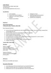 resume australian citizenship application cleaning resume sle