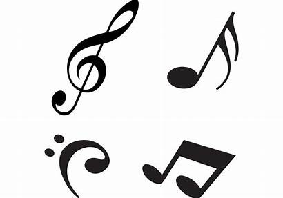 Notes Vectors Modern Note Vector Musical Graphics