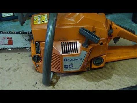 Husqvarna 55 rebuild with how to adjust carburetor