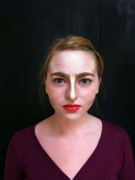 Stage Makeup Morgue Greek Makeup