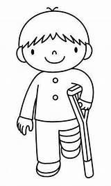 Coloring Kleurplaten Picasa Pages Thema Preschool Juan San Sick Ziek Zijn Doctor Boy Theme Printables Knutselen Van Printable Web Muurschilderingen sketch template