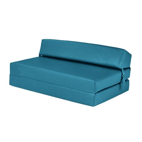 faux leather fold out z bed single futon chair bed