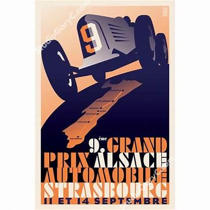 Poster Deco Prix Grand Strasbourg 1920 Train