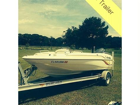 Hurricane Deck Boat Dimensions by Hurricane 172 Gs Fundeck In Florida Power Boats Used