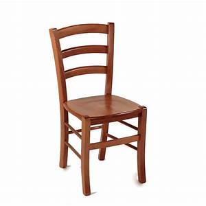 Chaise En Bois Rustique Avec Assise Bois Brocliande 4
