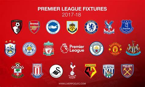 Premier League Fixtures 2018 2019