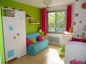 Idees Deco Chambre : vert et bleu deco avec decoration cuisine bleu et jaune idees et couleur de peinture pour ~ Melissatoandfro.com Idées de Décoration