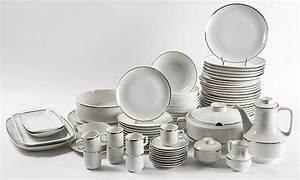 Service De Table Porcelaine : eschenbach bavaria germany partie de service de table en porcelaine blanche ~ Teatrodelosmanantiales.com Idées de Décoration