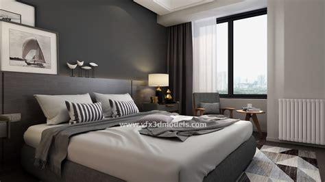 Schlafzimmer 3d by Free 3d Interior 3ds Max Models Vfx 3d Models