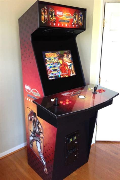 capcom arcade cabinet custom mame arcade cabinet marvel vs capcom the fight