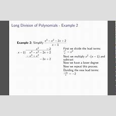 Rational Root Theorem  Example 2  Long Division Youtube