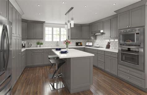 grey shaker kitchen cabinets shaker grey traditional kitchen cabinets framed 4088
