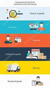 Infographics step by step instructions — Stock Vector ...