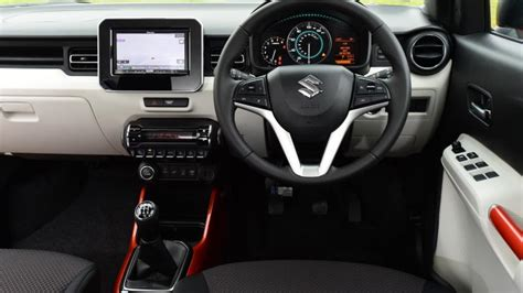 suzuki ignis suv  interior dashboard satnav carbuyer