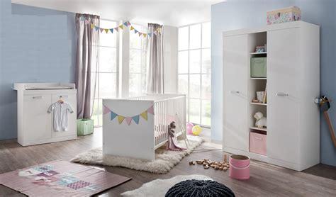 Babyzimmer Komplett Ronja Weiß Gitterbett Wickelkommode