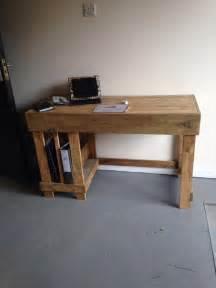 L Shaped Computer Desk Plans by Diy Wood Pallet Office Computer Desk Pallet Furniture Plans