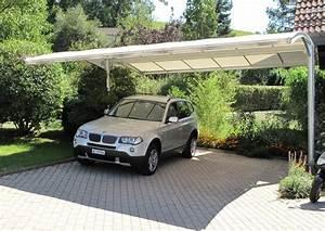Garage Pour Voiture : choisir un abri voiture en bois pour la voiture terrasse ~ Voncanada.com Idées de Décoration