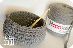 Corbeille Au Crochet : corbeille crochet tricot couture crochet pinterest corbeille crochet et tricot ~ Preciouscoupons.com Idées de Décoration