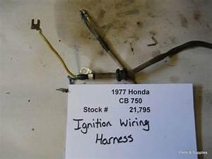 1977 Honda Cb750 Cb 750 Ignition Wiring Harness