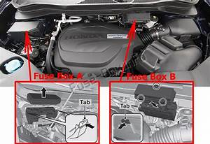 Fuse Box Diagram Honda Pilot  2016