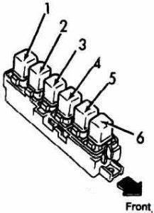 Daihatsu 1996 G20 Engine Diagram