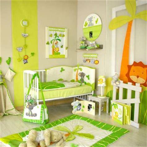 d oration chambre d enfants décoration chambre jungle bebe