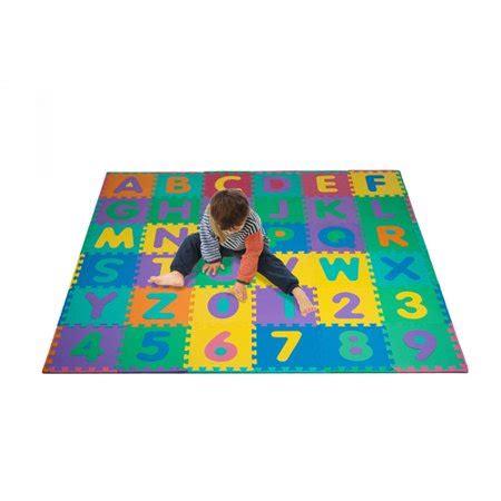 Trademark  Piece Foam Floor Alphabet  Number Puzzle