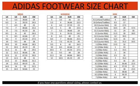 Adidas Infant Shoes Size Chart Ofertasvuelo