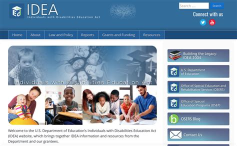 department of education launches new idea website