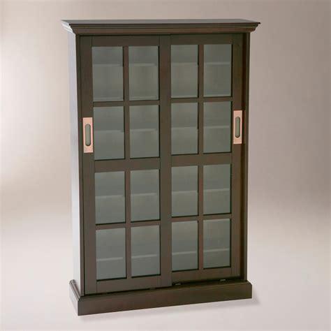 media storage cabinet with glass doors southern enterprises sliding glass door windowpane media