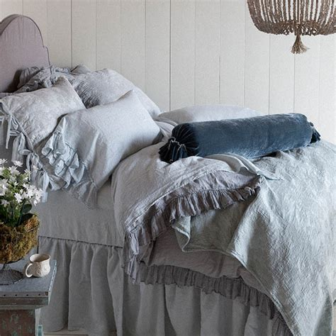 bella notte marguerite coverlet blue leaf houston