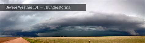 severe weather  thunderstorm types