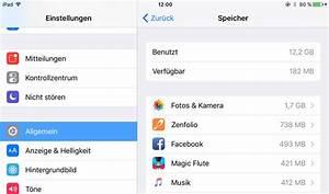 Iphone Apps Aufräumen : ios 9 speicherplatz freischaufeln auf iphone und ipad ~ Lizthompson.info Haus und Dekorationen
