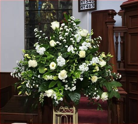 large wedding flower arrangements  church beautiful
