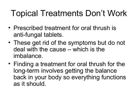 Natural Treatment For Oral Thrush