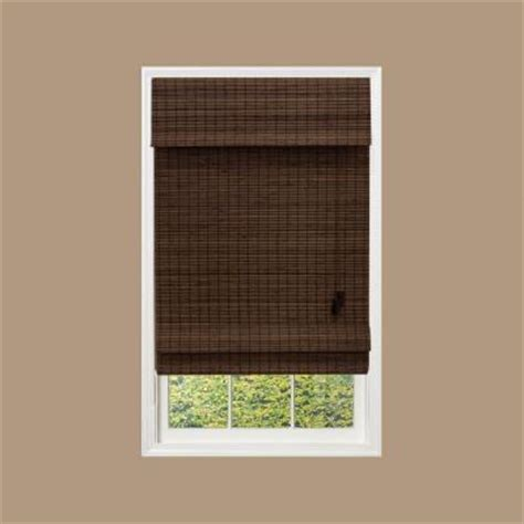 home decorators collection espresso flat weave bamboo