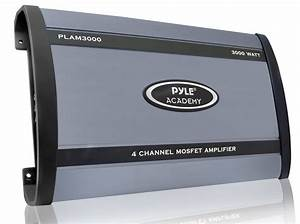 Amazon Com  Pyle Plam3000 3000 Watts 4 Channel Bridgeable
