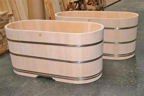 wooden soaking tubs 132 best images about cedar hottub ideas on