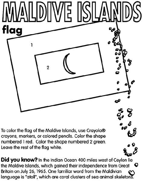 Maldives Islands crayola co uk