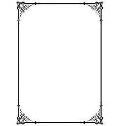 Decorative Page Borders