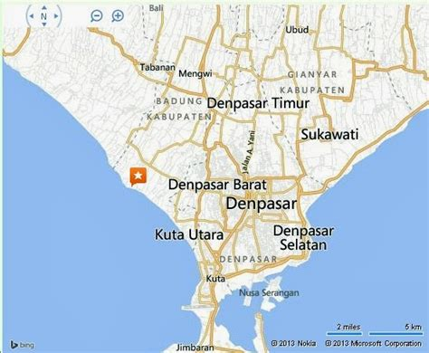 location map  tanah lot temple bali bali weather