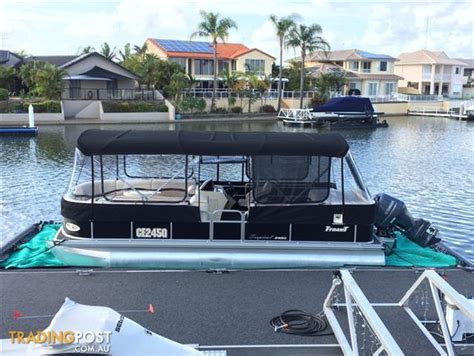 Runaway Bay Pontoon Boats For Sale by Tyrant Pontoon Boat For Sale In Runaway Bay Qld Tyrant