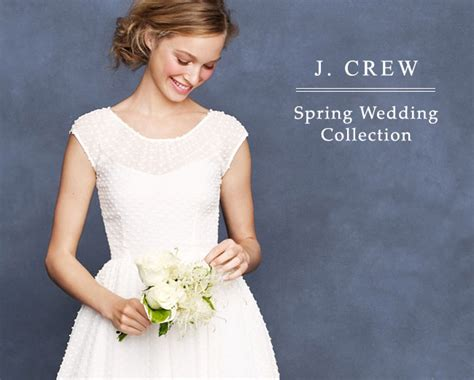 Save 20% On The J. Crew Spring Wedding Collection!