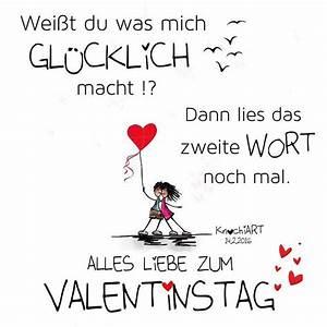 Valentinstag Lustige Bilder : alles liebe zum valentinstag sch n dass es dich gibt just for you pinterest valentinstag ~ Frokenaadalensverden.com Haus und Dekorationen
