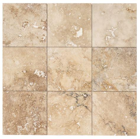 travatine tile izmir travertine tile honed and filled chiaro rustic beige 18 quot x18 quot x1 2 quot honed and filled