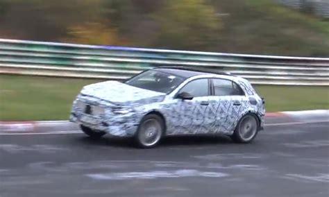 2019 Mercedesbenz Gla Hits Nurburgring, Prototypes Look